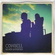 (BS199) Cowbell, Never Satisfied - DJ CD