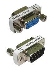 9 PIN Porta Seriale Cavo SAVER da maschio a femmina Gender Changer Adattatore convertitore da G9