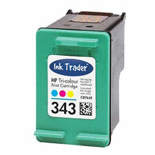 HP 343 Colour Ink Cartridge for Photosmart C4180 Inkjet Printers