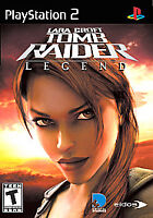Lara Croft Tomb Raider Legend Ps2 Game Disc Only 15e For T-Kids Playstation 2