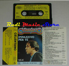 MC ADRIANO CELENTANO Impazzivo per te vol.4 1982 italy JOKER 3892 cd lp dvd vhs
