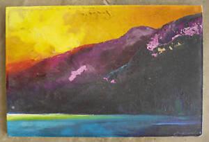 Earl Daniels Mod California Laguna Oil Landscape LISTED