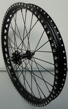 "Onza Tensile 20"" Front Trials Disc Wheel.Genuine Comp.Class Side Drill 1/2 PRICE"