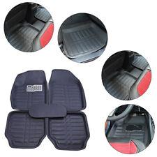 US 5pc Universal Floor Liner Auto Front & Rear Floor Mats All-Weather Durable