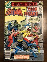 The Brave And The Bold # 149 Batman Teen Titans DC Comics 1979