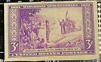 U.S. Stamp 1934 3 Cent WISCONSIN TERCENTENARY imperforate