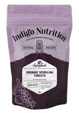 Orgánica Spirulina comprimidos - 100-índigo Hierbas
