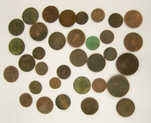 Small Selection of Metal Detector Finds - Including Early British Coins