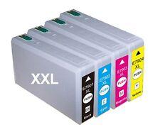 4 x Patrone für Epson WorkForce Pro WP4015dn WP4025dw WP4525dnf WP4535dwf