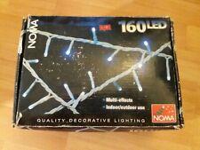 Noma 160 LED Multi-Effects Christmas Light Set. White .