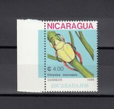 TIMBRE STAMP 1 NICARAGUA Y&T#1512 FAUNE INSECTE NEUF**/MNH-MINT 1988 ~A78