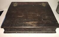 BEAUTIFUL 19th Century Document Box Old Paint AAFA Primitive Cash Box