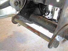 HONDA SUPERDREAM CB250N CB400N - BOTTOM REAR ENGINE MOUNTING BOLT & NUT