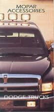 Dodge Trucks MOPAR Accessories Prospekt klein USA Auto PKWs Amerika Autoprospekt