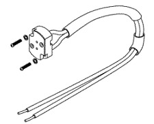 Lamp Socket Assembly for A-dec