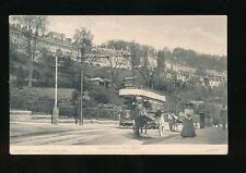 Somerset BATH Hedgemead Park Tram #2 Used 1905 PPC local pub Eames