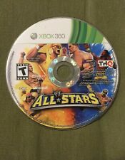 WWE All Stars (Microsoft Xbox 360, 2011) Disc Only Fast Free Shipping