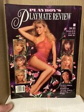 PLAYBOY SPECIAL EDITIONS: PLAYMATE REVIEW ~ 1991 ~ VERY GOOD!