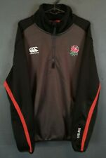 CANTERBURY MEN'S RUGBY UNION ENGLAND TRAINING SHIRT JERSEY LONG SLEEVE SIZE XL