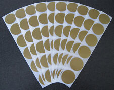 60 GOLD SCRATCH OFF STICKERS MAKE YOUR OWN SCRATCHIES BABY SHOWERS DISCOUNTS
