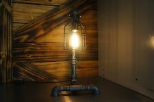 Edison Age Industrial Table Lamp, Night stand Lamp, Desk Lamp, Steampunk w/ bulb