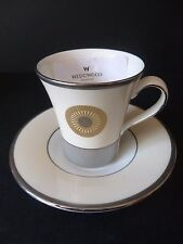 Wedgwood * Escape SILVER * SAMPLE * Cup & Saucer * NEW & UNUSED *