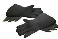 Batman Black Gloves DC Comics Superhero Halloween Dark Knight One Size