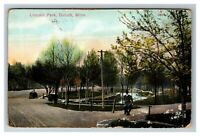 Vintage View of Lincoln Park, Duluth MN c1909 Postcard L21