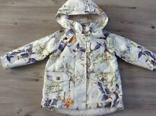 (Y9) NEXT GIRLS LOVELY AUTUMN WINTER HOODED COAT AGE 18-24MTHS