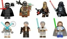Lego Star Wars Custom Minifigures - Lot of 8 - Kylo Rey Luke Han Solo and More