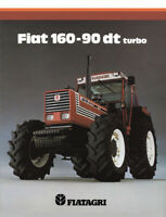 Fiatagri 160-90 DT Fiat SALES BROCHURE/POSTER 80's ADVERTISEMENT ULTRA RARE A3