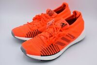 $140 Adidas PulseBOOST HD Solar Red Primknit Running Shoes Mens 9.5 FU7332
