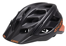 GIRO HEX ADULT HELMET BLACK ORANGE LARGE 59-63cm NEW  #CS07