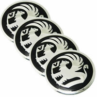 4 x 56mm Black Stickers Caps Centre Hub Wheel Cap Emblem For Corsa Astra S177