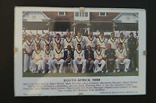 Cricket Collectable - Framed Perspex - 1998 - South African Cricket Team
