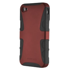 Seidio Active Series Dual Layer Case Cover for Apple iPhone 4/4S - Burgundy
