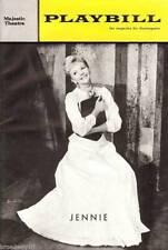 """Mary Martin """"JENNIE"""" George Wallace / Schwartz & Dietz 1963 FLOP Playbill"""