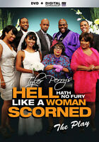 Tyler Perry's Hell Hath No Fury Like a Woman Scorned: The Play (DVD,2014)