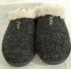 NEW Worman Dearforms Memory Foam Slip On Scuff Clog Slippers