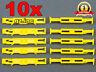 10 x NEW WINDOW RAILS FIXING CLIPS FOR CITROEN PEUGEOT 812398