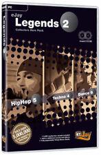 eJay Legends II, Dance 6 Reloaded + Hip Hop 5 + Techno 4. PC. Create Music Pro.