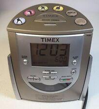 TIMEX T622H CD AM FM Alarm Clock Radio MP3 Aux input Battery Backup Dimmer
