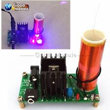 15W Mini Tesla Coil Plasma Speaker Set Field Music Project Parts  DIY 15-24V/2A