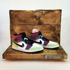 Nike Air Jordan 1 Mid Womens Uk6 Lightbulb Easter
