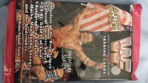 wwf action packed trading cards