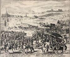 Netherlands Le prince Maurice reçoit Spinola à Rijswijk 1608 Willem Baudartius