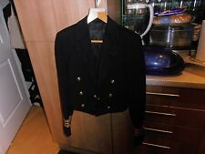 1970s  Royal Navy Lt.Commander Quality Doeskin  Mess Dress Jacket by Gieves