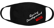 TRD Racing Development -Face Mask Adult Youth Fashion 2 Layers Cotton Made in US