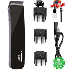 Rechargeable Electric Men haircut Clipper Shaver Trimmer Razor Hair Grooming Kit