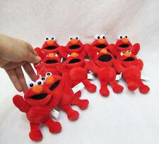 "10pcs Sesame Street elmo 5"" plush doll dolls toy ornament key chain new"